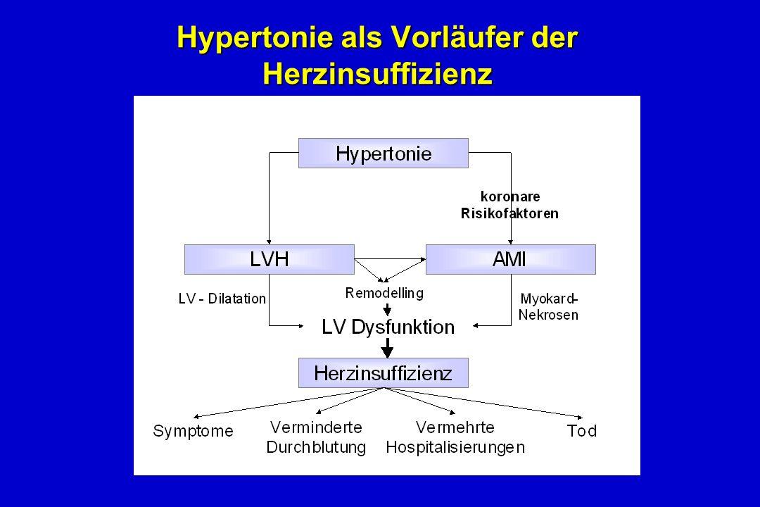 Hypertonie als Vorläufer der Herzinsuffizienz