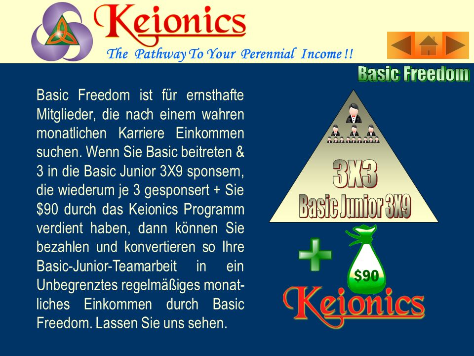 The Pathway To Your Perennial Income !.Leaders Leverage Bonus: Wenn Ihre 3 persönl.