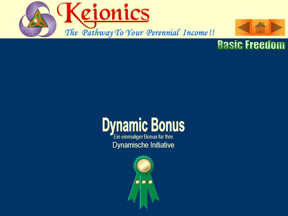 Ein einmaliger Bonus für Ihre Dynamische Initiative