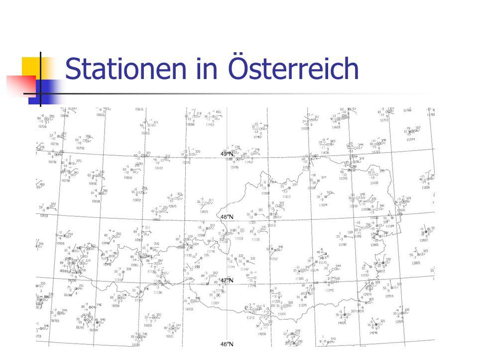 Stationen in Österreich