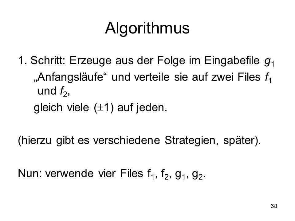 38 Algorithmus 1.