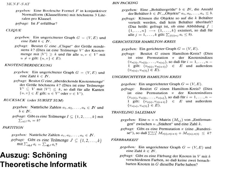 58 Auszug: Schöning Theoretische Informatik
