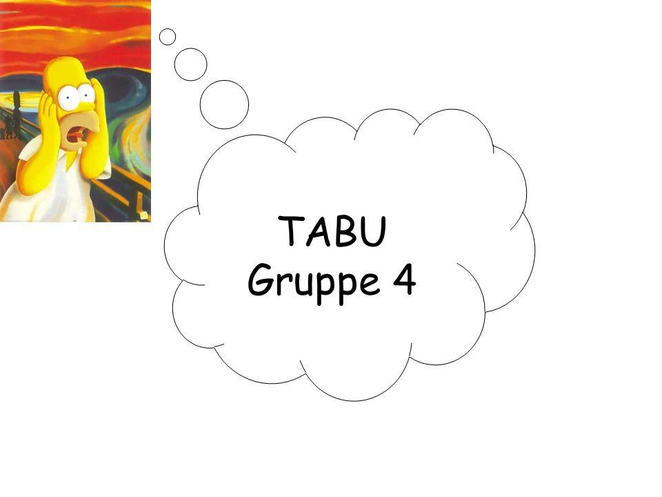 TABU Gruppe 4