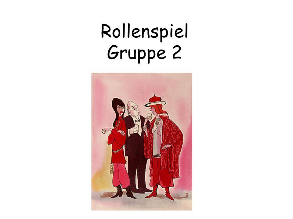 Rollenspiel Gruppe 2