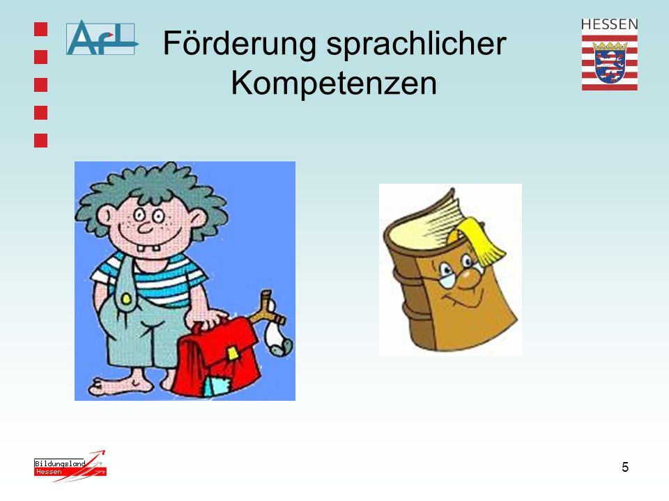 5 Förderung sprachlicher Kompetenzen