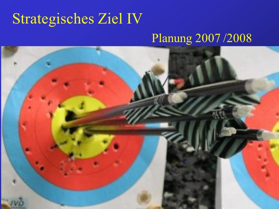 Strategisches Ziel IV Planung 2007 /2008