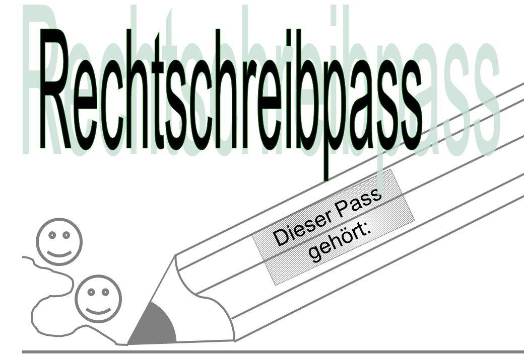 Dieser Pass gehört: