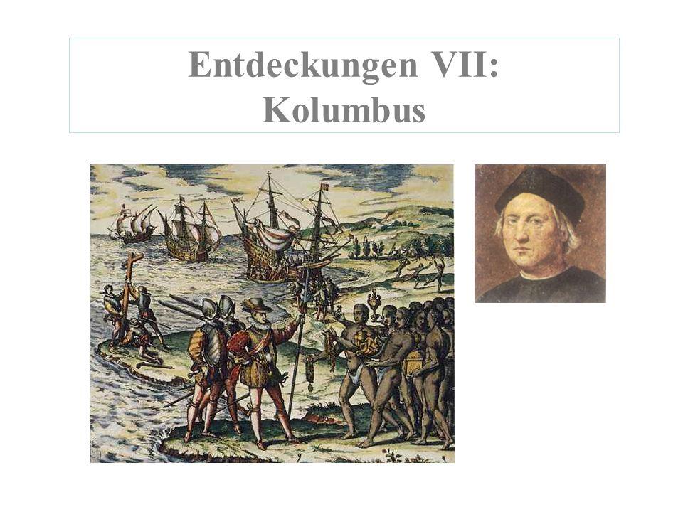 Entdeckungen VII: Kolumbus