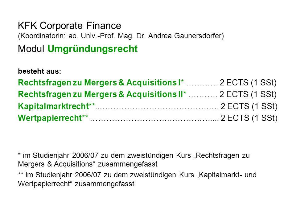 KFK Electronic Business (Koordinatorin: ao.Univ.-Prof.