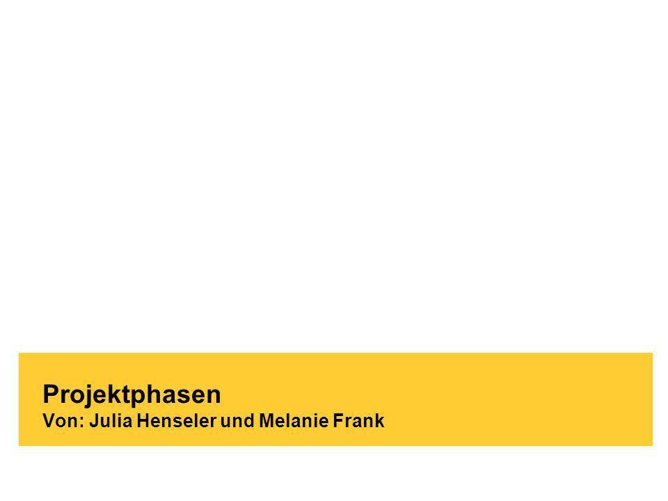 Brand-Bam HG93 - Witschaftsinformatik Köln / 03.12.2009 Projektphasen Von: Julia Henseler und Melanie Frank