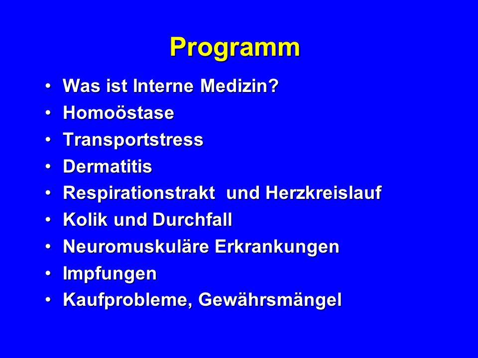 Programm Was ist Interne Medizin?Was ist Interne Medizin.