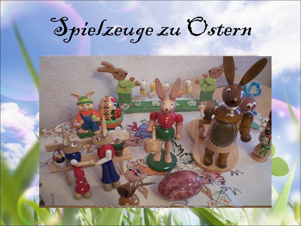 Spielzeuge zu Ostern