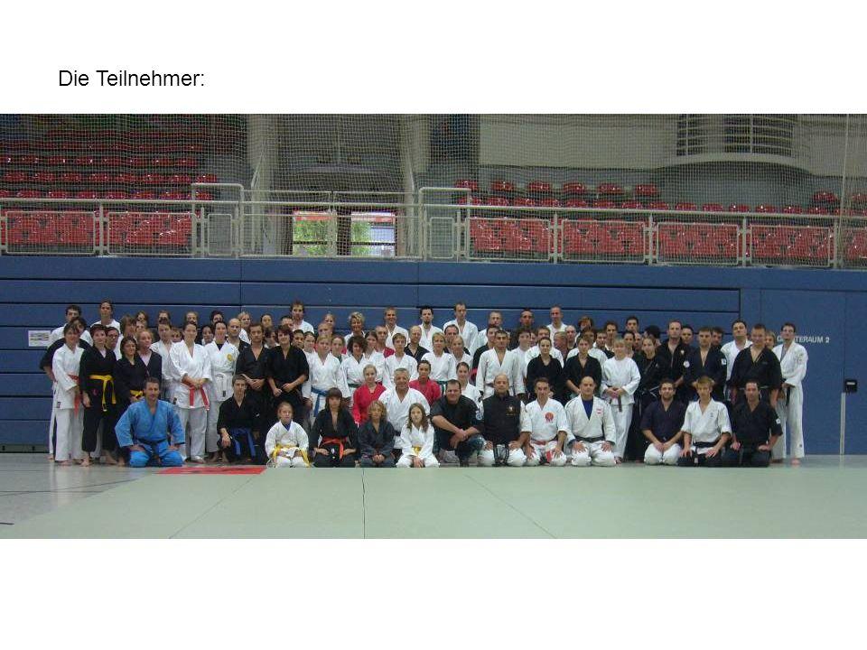 Die Teilnehmer:
