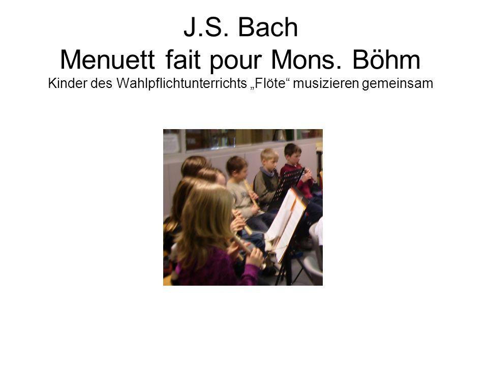 Bunte Noten aus dem Leben von Johann Sebastian Bach ein Theaterstück von Beate Mierswa