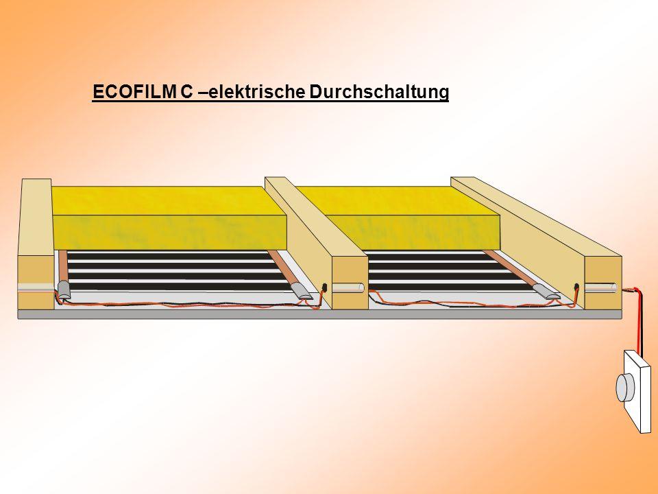 ECOFILM C –elektrische Durchschaltung