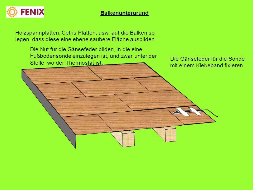 Holzspannplatten, Cetris Platten, usw.