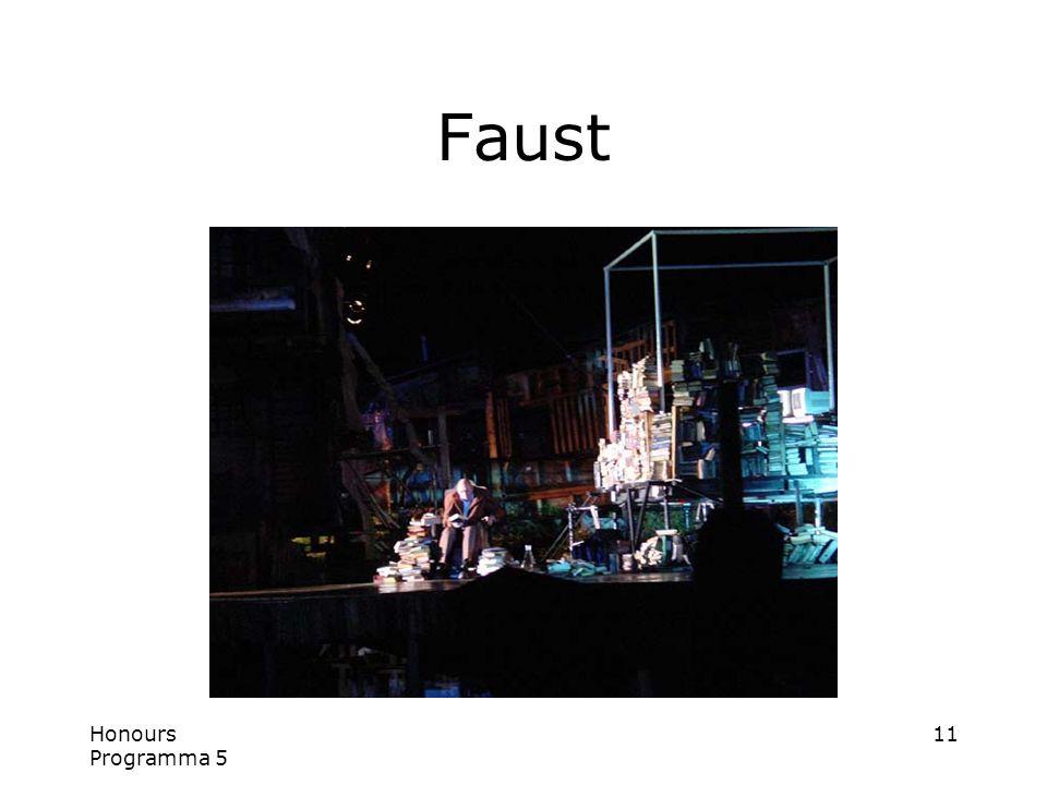 Honours Programma 5 11 Faust