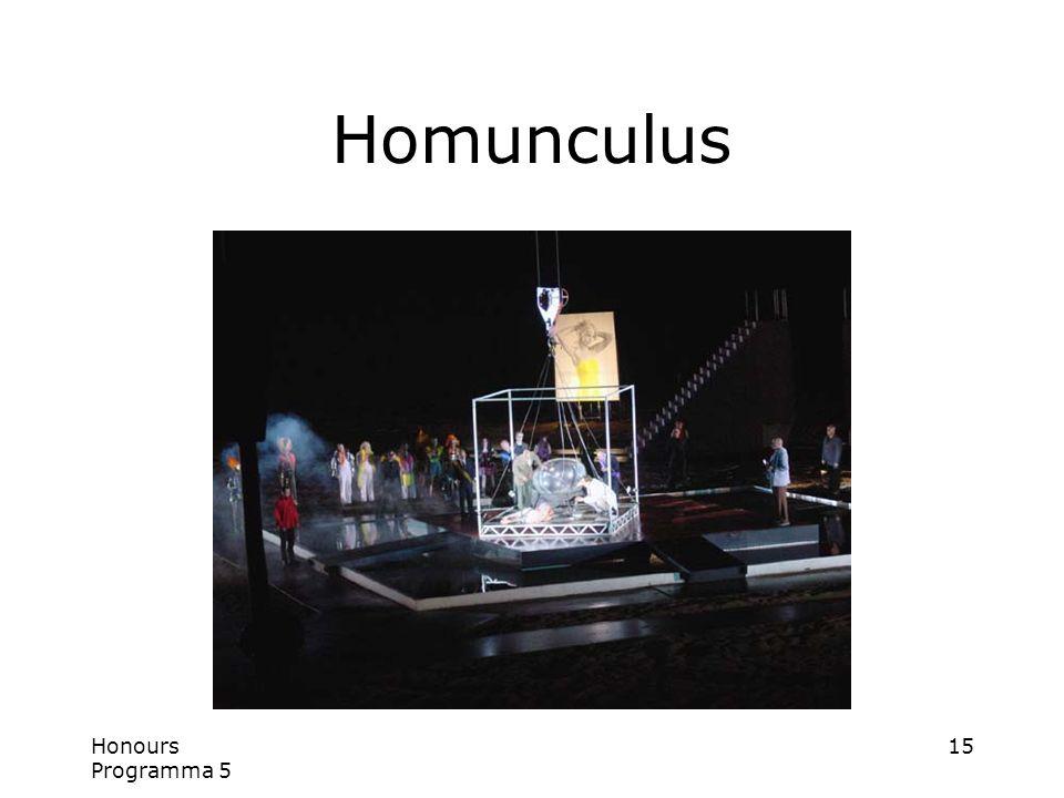 Honours Programma 5 15 Homunculus