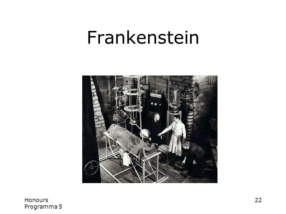 Honours Programma 5 22 Frankenstein