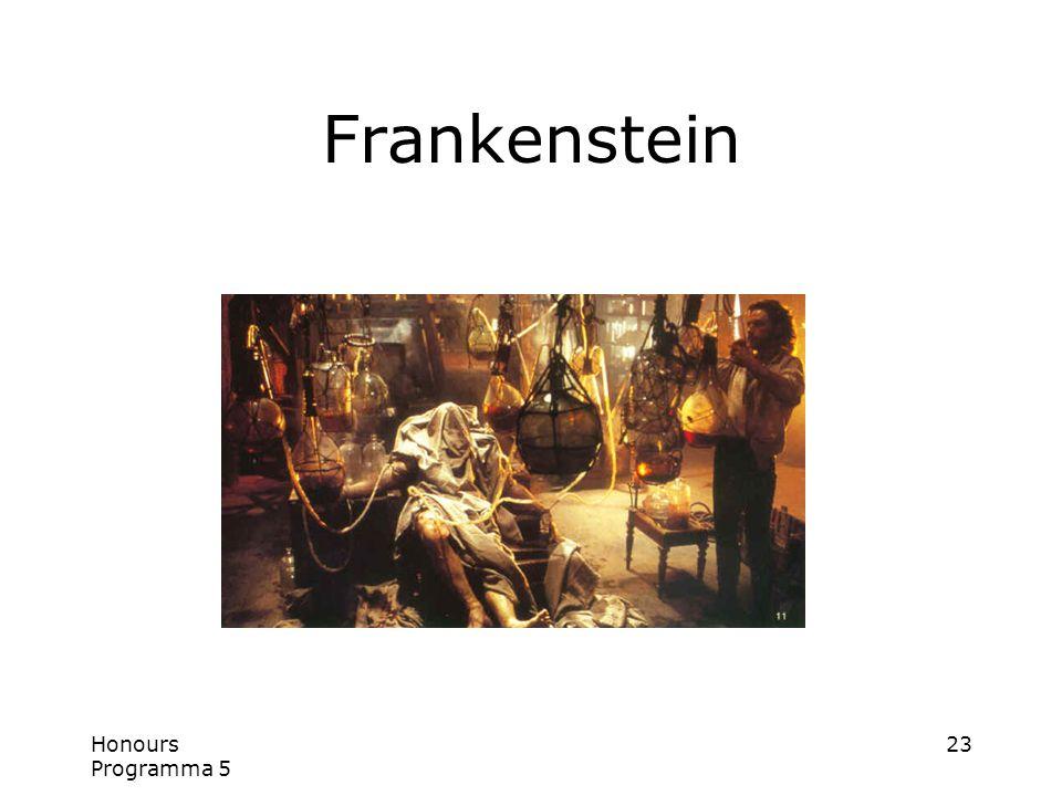 Honours Programma 5 23 Frankenstein