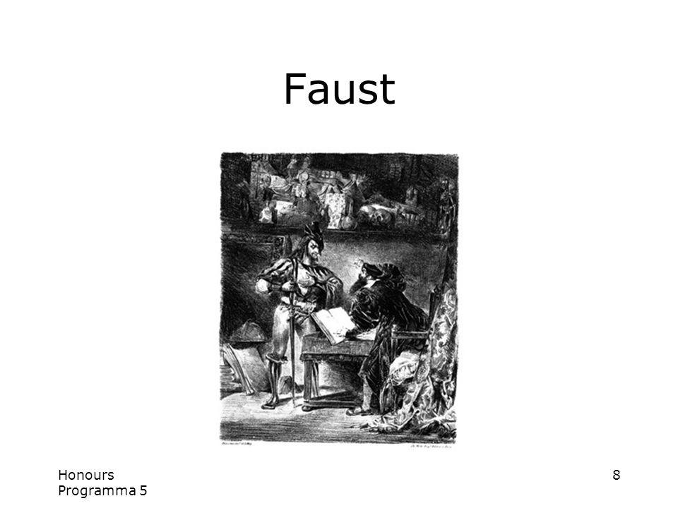Honours Programma 5 8 Faust