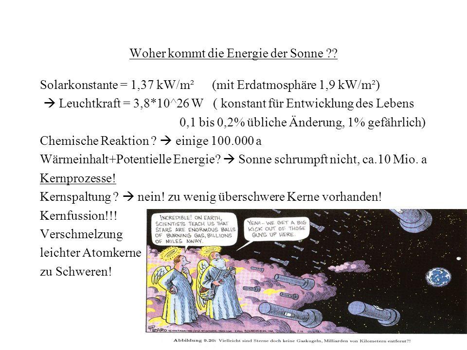 Tunneln und Maxwellverteilung bei T=15 Mio.K Coulombbarriere ca.