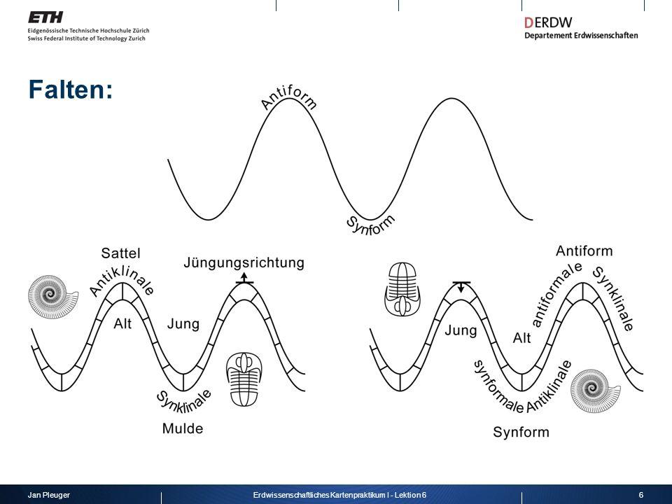 Jan Pleuger6Erdwissenschaftliches Kartenpraktikum I - Lektion 6 Falten: