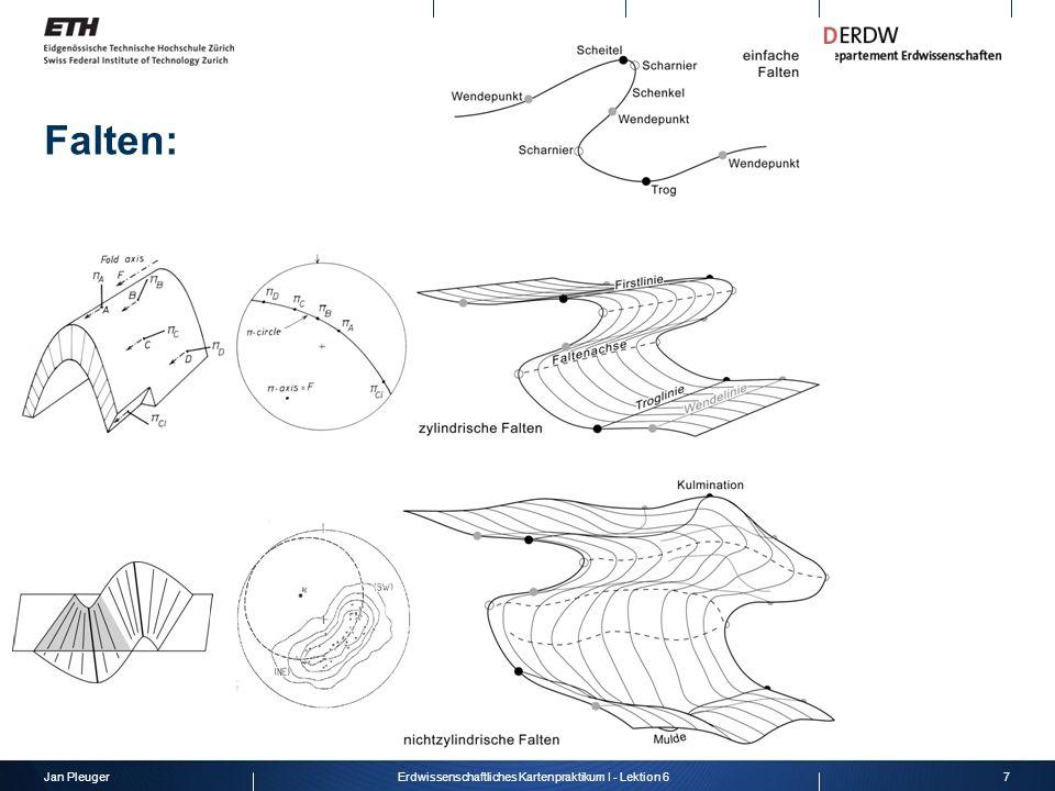 Jan Pleuger7Erdwissenschaftliches Kartenpraktikum I - Lektion 6 Falten: