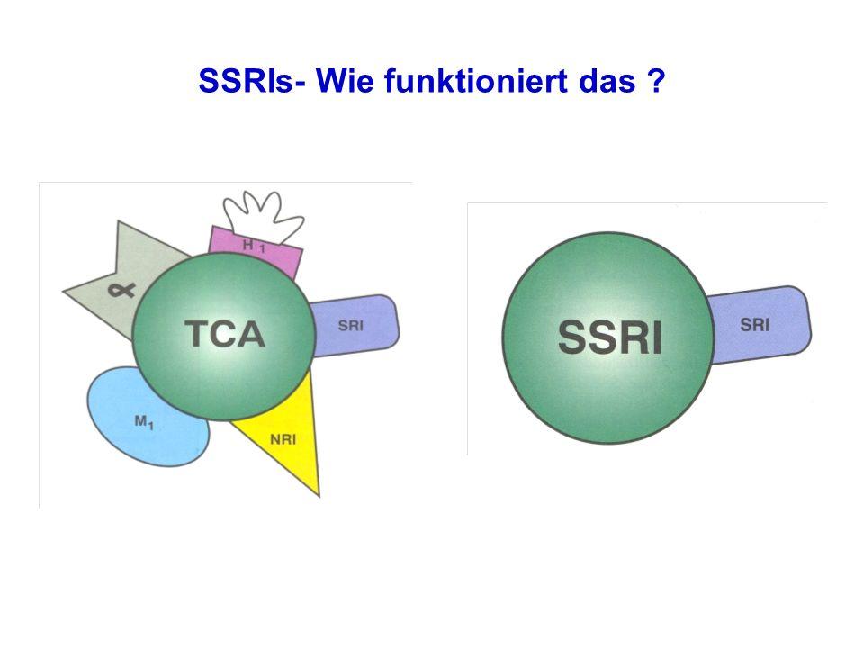 SSRIs- Wie funktioniert das ?