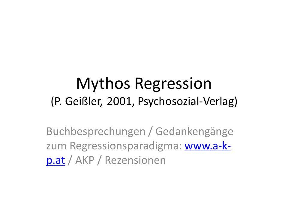 Analytische Körperpsychotherapie: eine Bestandsaufnahme P. Geißler (2009, Psychosozial-Verlag)