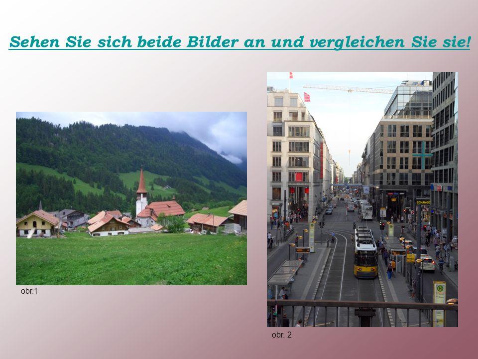 Sehen Sie sich beide Bilder an und vergleichen Sie sie! obr.1 obr. 2