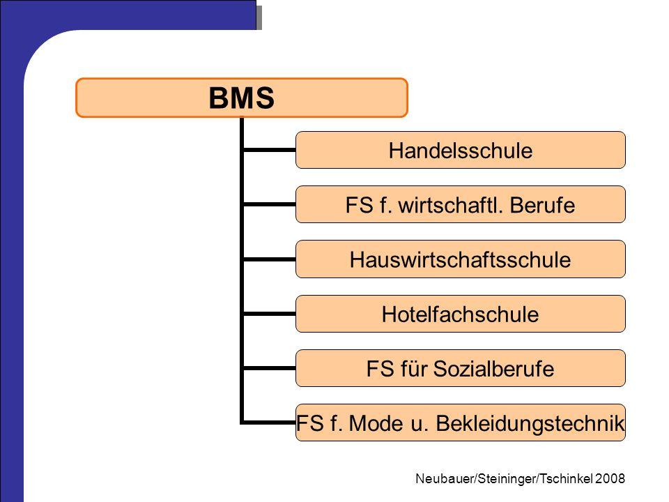 Mag.Neubauer 2006 BMS Handelsschule FS f. wirtschaftl.
