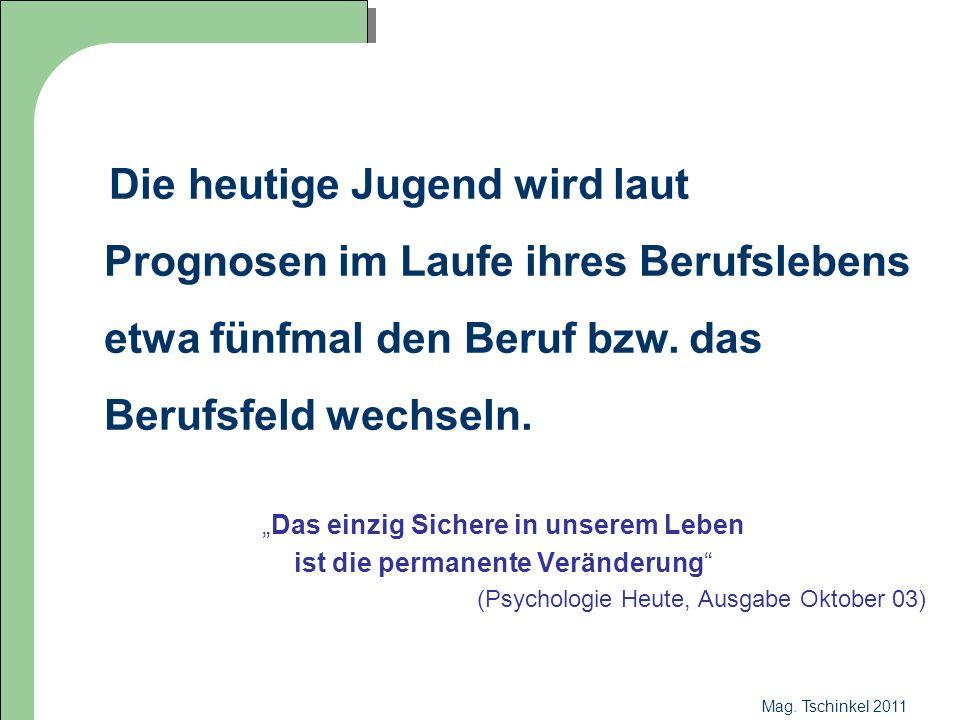 Mag. Tschinkel 2011