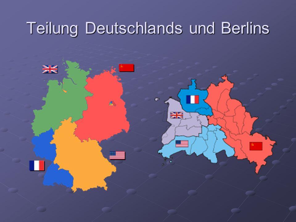 Gründung der Bundesrepublik Deutschland (BRD) 23.05.1949 Hauptstadt: Bonn Wirtschaftsordnung: soziale Marktwirtschaft