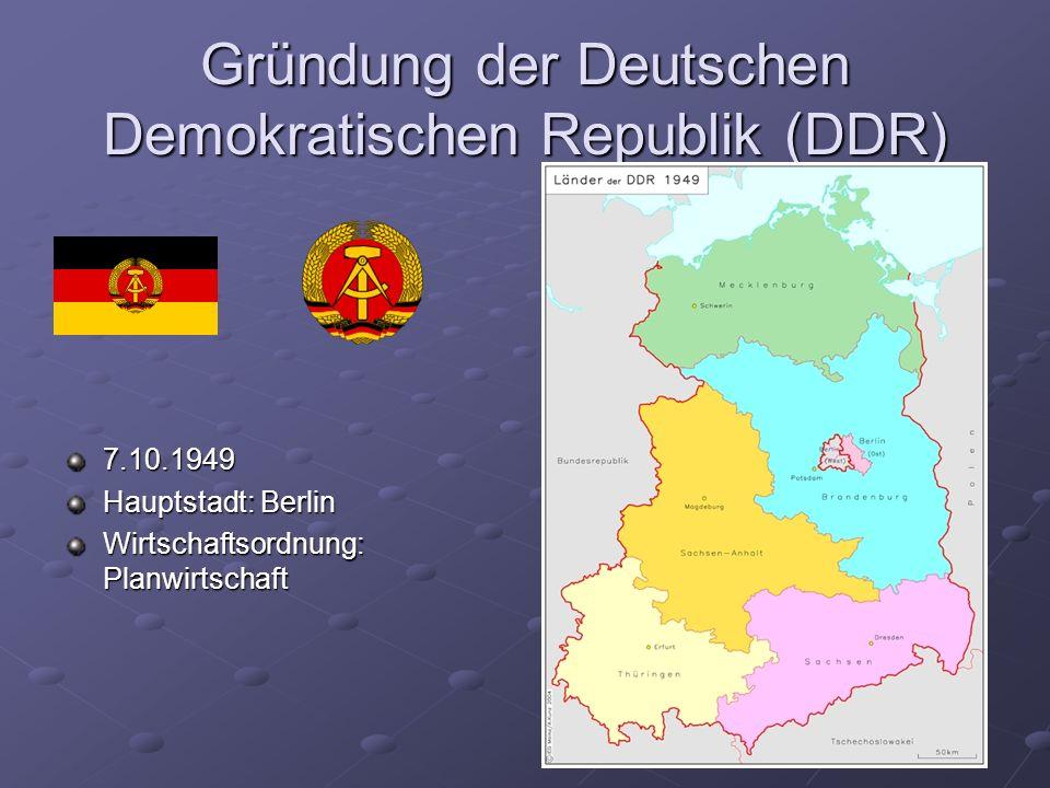 Konrad Adenauer (1876 – 1967) der erste Bundeskanzler (1949 – 1963)
