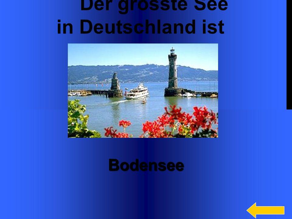 17 Der grösste deutsche Fluss heisst... Fluss heisst... Rhein