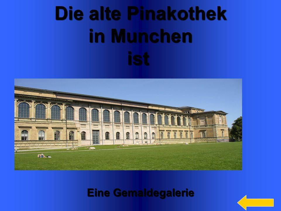 7 Die alte Pinakothek in Munchen in Munchenist Eine Gemaldegalerie