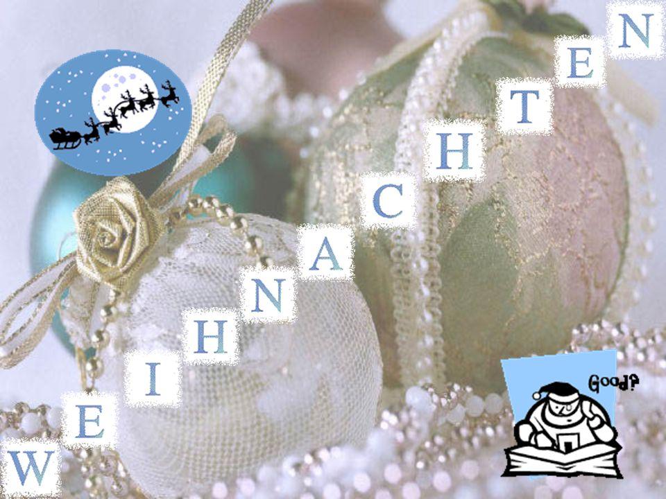 Weihnachten ist ein hohes kirchliches Fest.Weihnachten ist auch das beliebteste Familienfest.