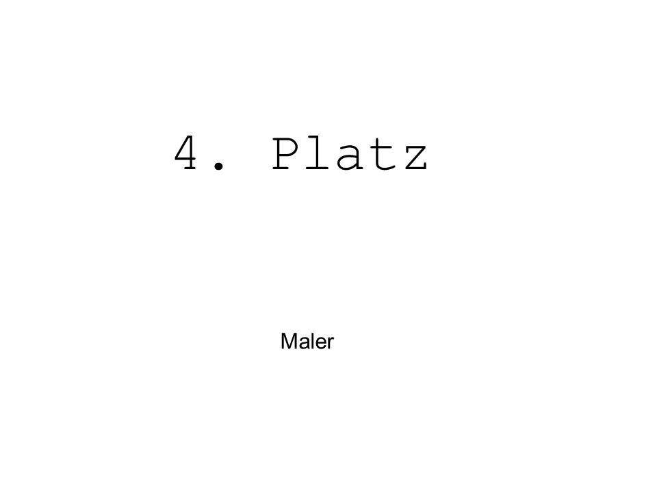 Maler 4. Platz