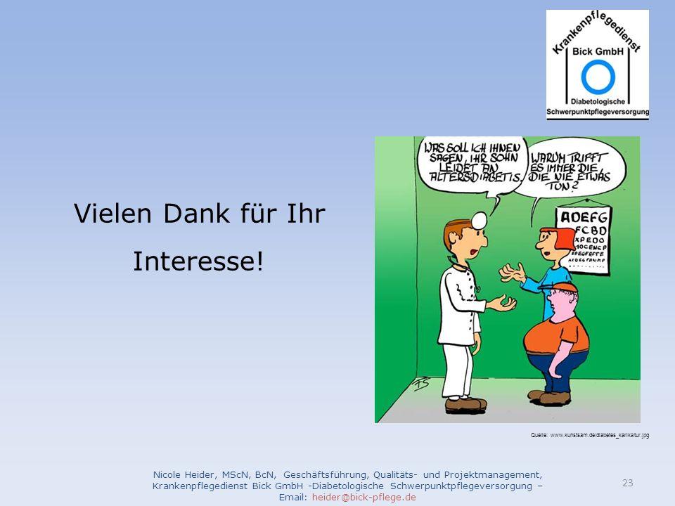 Nicole Heider, MScN, BcN, Geschäftsführung, Qualitäts- und Projektmanagement, Krankenpflegedienst Bick GmbH -Diabetologische Schwerpunktpflegeversorgu