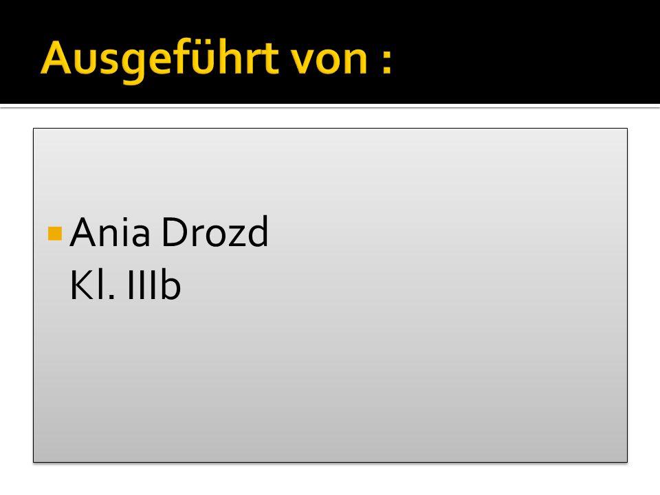 Ania Drozd Kl. IIIb