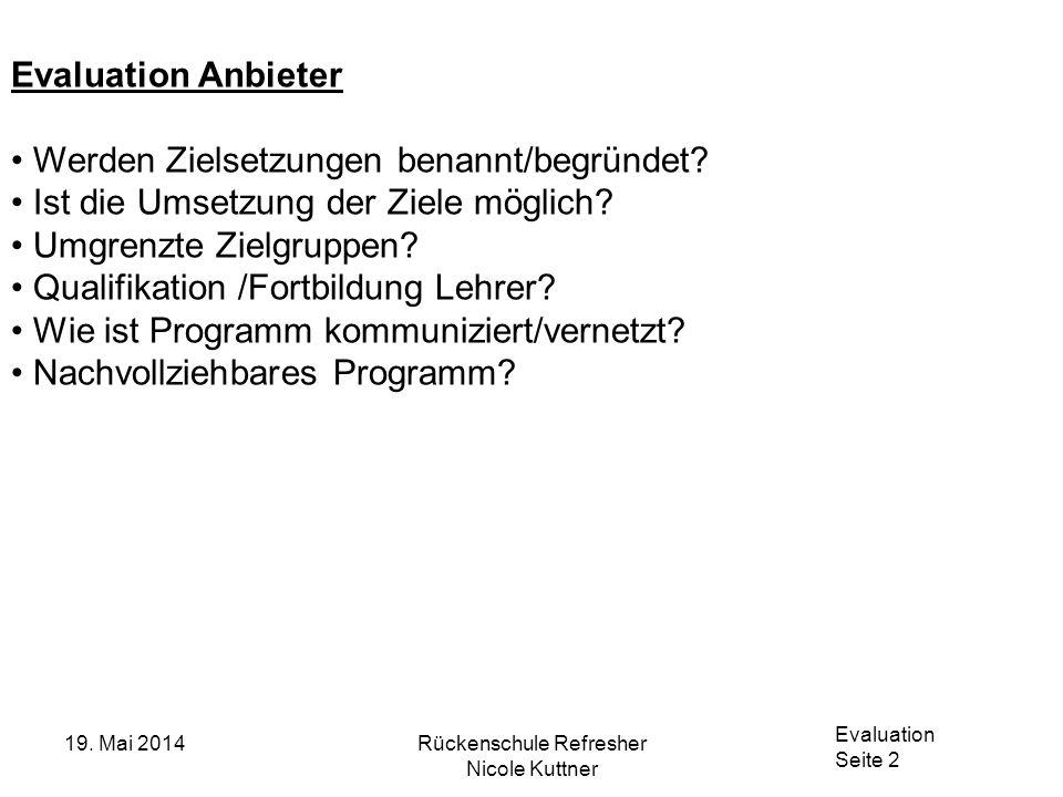 Evaluation Seite 3 19.