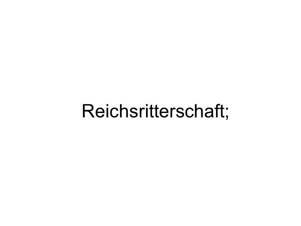 Reichsritterschaft;