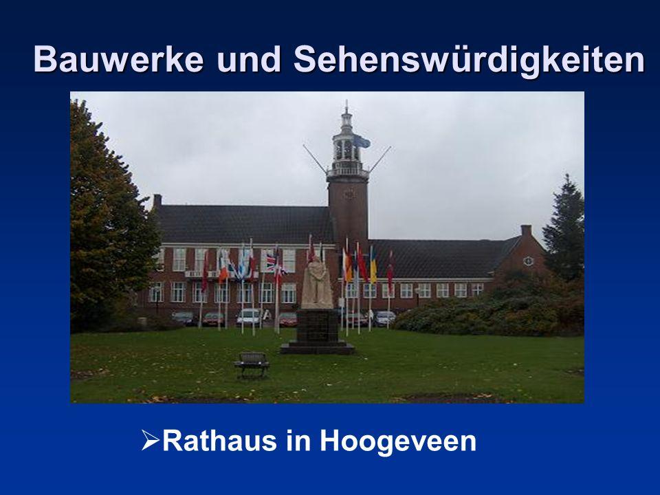 Bauwerke und Sehenswürdigkeiten Rathaus in Hoogeveen