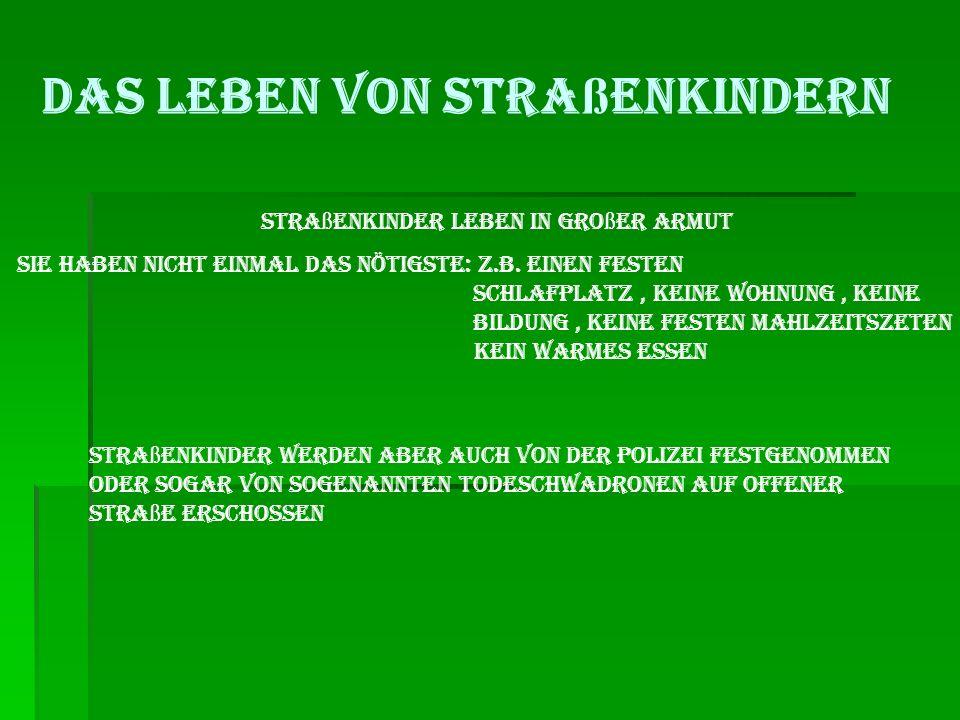 Stra ß enkinder in Not Es gibt sie überall auch in Deutschland Und du kannst HELFEN Mit Spenden! Spendenkontonummer für stra ß enkinder in bolivien: 0