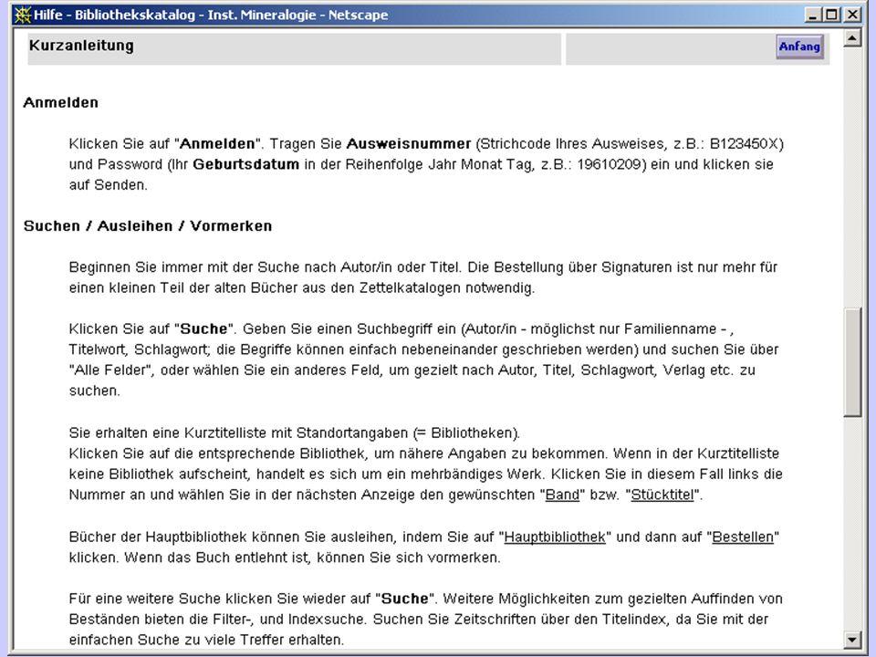 Spektrum Akademischer Verlag, 2002 Auch als 6 bändiges Druckwerk in UB-Lesesaal