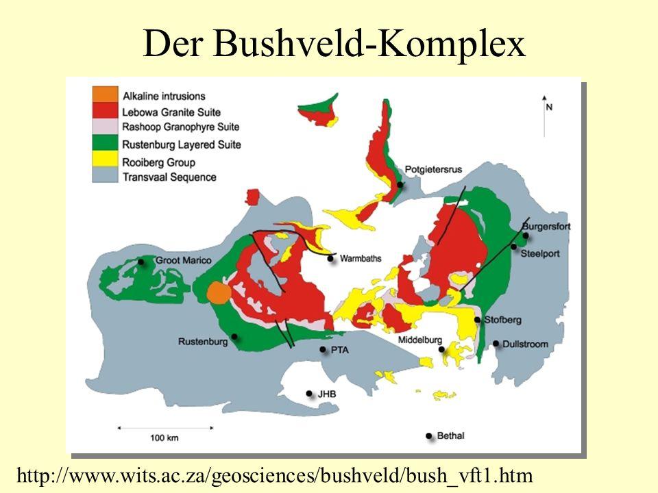 Der Bushveld-Komplex http://www.wits.ac.za/geosciences/bushveld/bush_vft1.htm