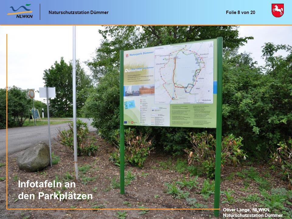 Naturschutzstation Dümmer Oliver Lange, NLWKN Naturschutzstation Dümmer Naturerlebniskarten der schönsten Gebiete im Naturpark Dümmer Folie 9 von 20
