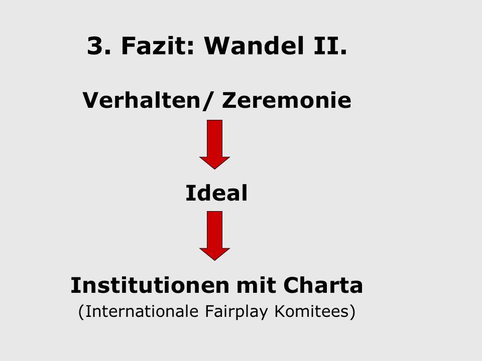 3. Fazit: Wandel II.