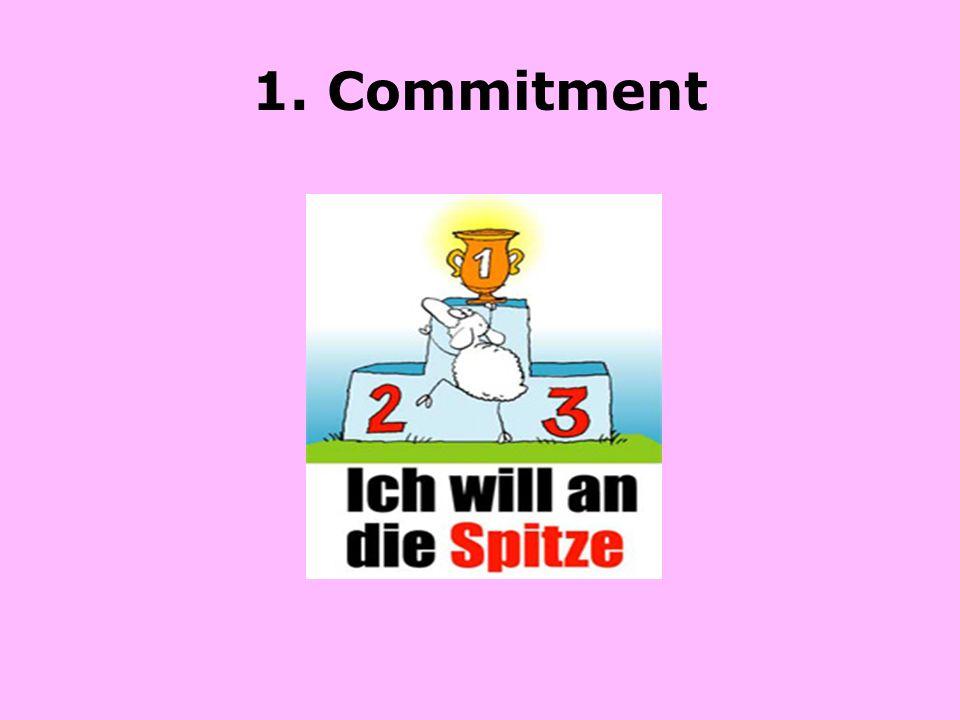1. Commitment
